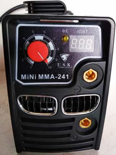 Máquina de Solda Inversora 120Amp. Mono 220V MMA-241 - USK