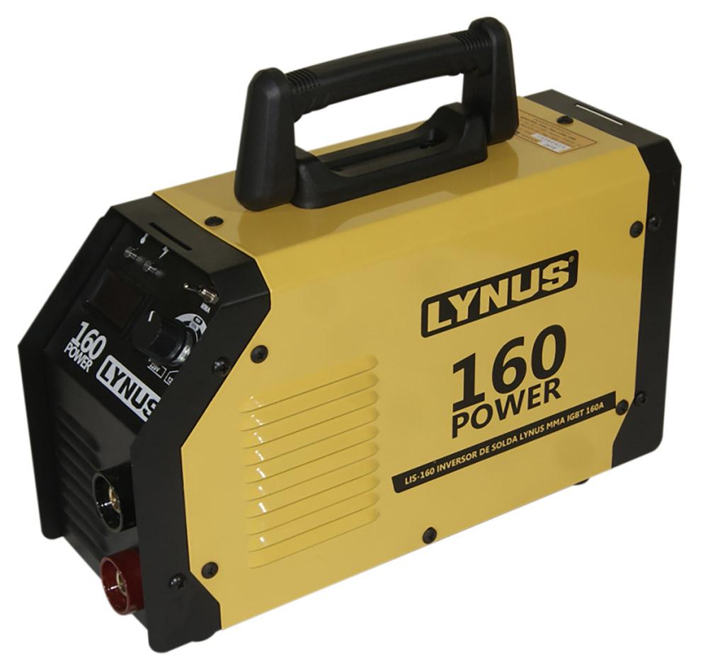 Máquina de Solda Inversora Power MMA160A - Lynus