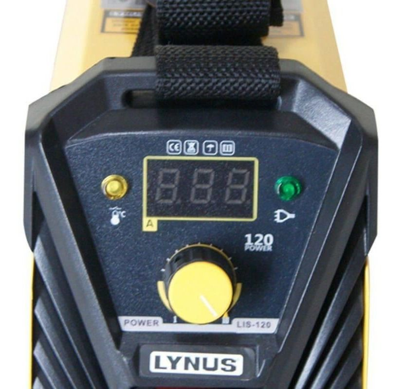 Maquina de Solda Inversora Power MMA 120A Bivolt LIS-120B – Lynus