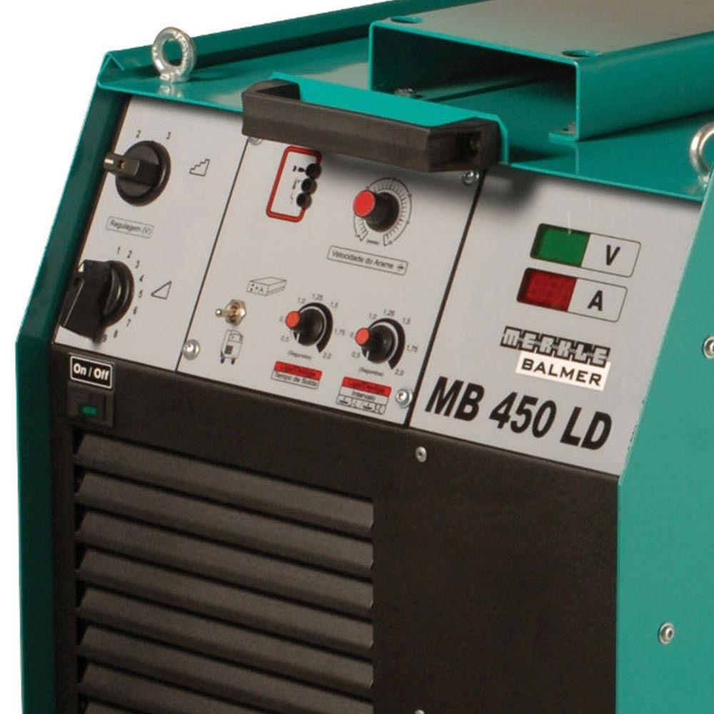 Máquina De Solda Mig MB-450 LD - Balmer