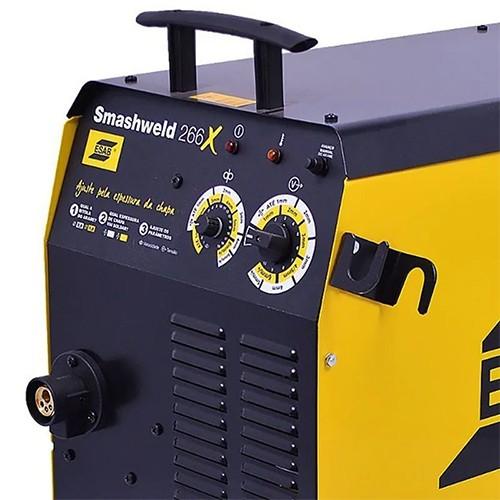 Máquina de Solda Mig SMASHWELD 266X Trifásica S/ Acessórios - Esab