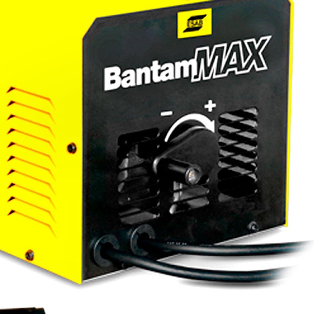 MAQUINA DE SOLDA TRANSFORMADOR 250A 220V BANTAM MAX ESAB