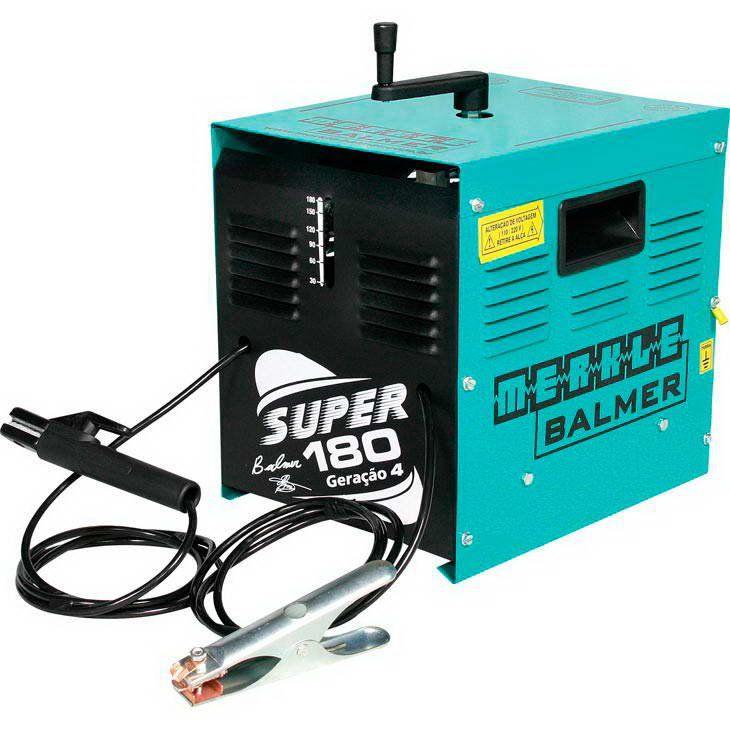 Maquina de Solda Transformadora 180 Amp. -  Super 180 110/220V - BALMER