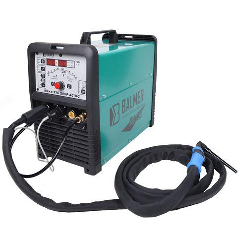 Maquina Inversora de Solda 220V Maxxitig 200P AC/DC - Balmer