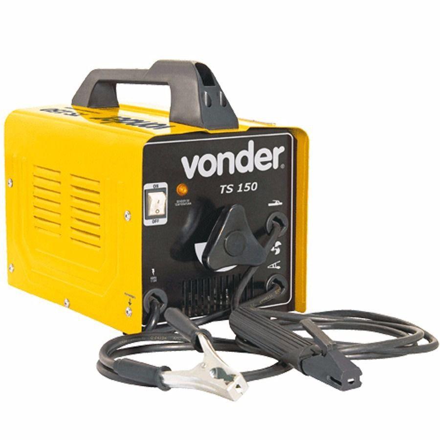 Máquina Transformadora de Solda 150A 220V TS150 - Vonder