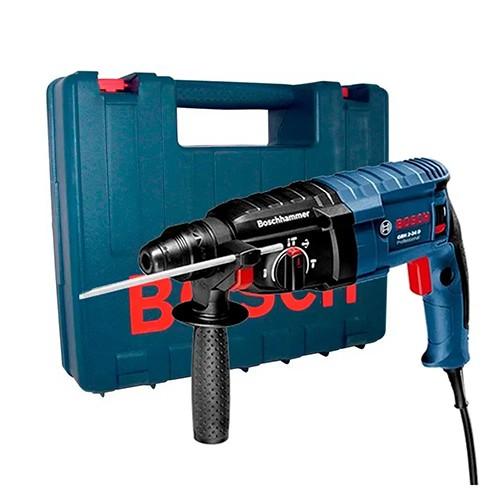 Martelete Perfurador 820W GBH 2 24 D 220V c/ Maleta - BOSCH