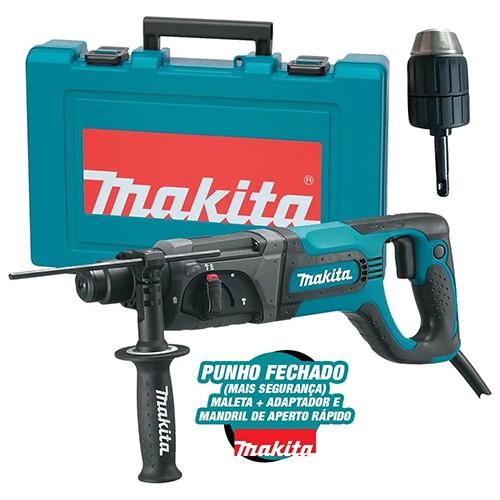 MARTELETE PERFURADOR/ROMP. SDS PLUS 780W 110V HR2475X MAKITA
