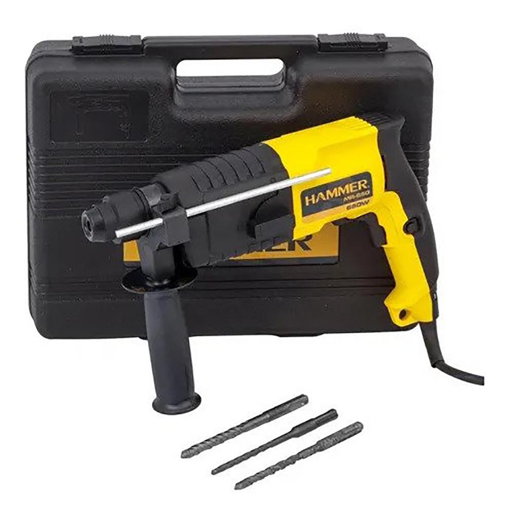 Martelete Perfurador SDS PLUS 650W 220V GYMR650 - Hammer