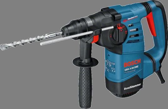 Martelo Perfurador 800W GBH 3 28 DRE SDS Plus 220V - BOSCH