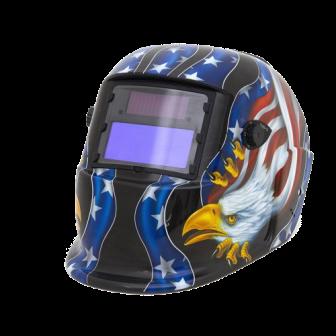 Máscara de Solda Automática Bandeira Americana - APOLLO
