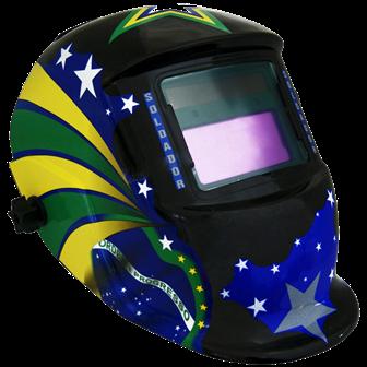 Máscara de Solda Eletrônica Estilizada - Apollo