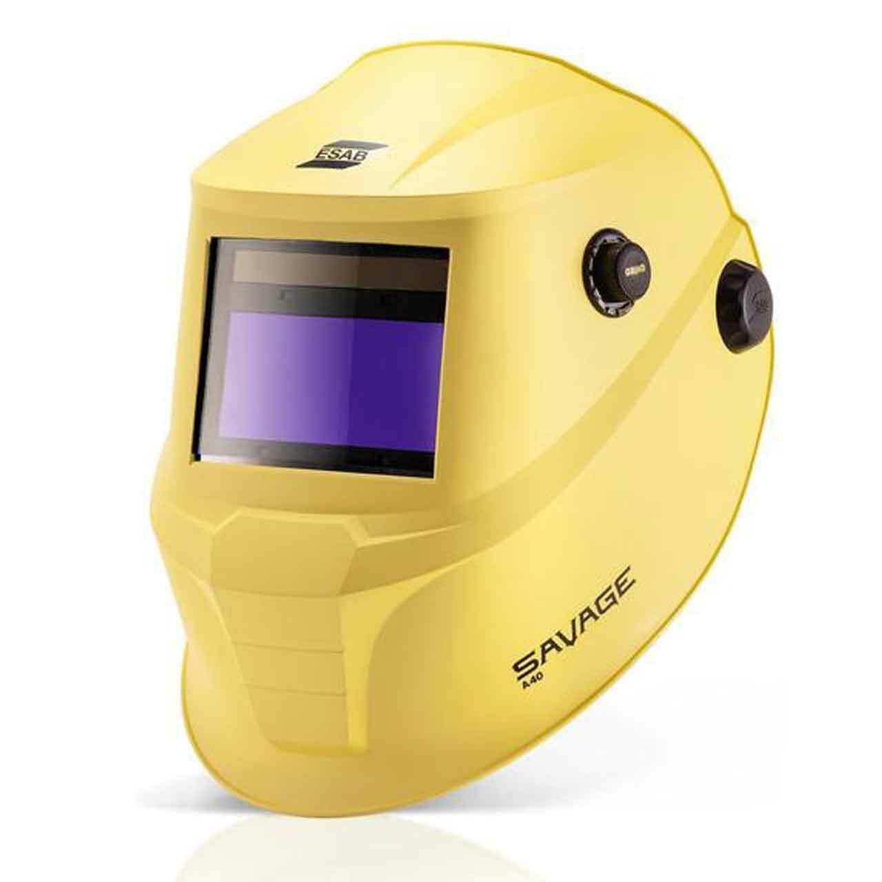 Máscara de Solda ESC Aut. 9 a 13 Savage A40 Amarela - Esab