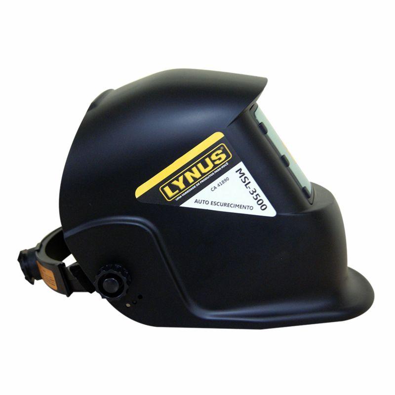 Máscara de Solda Escurecimento Automática (MIG-TIG-EL) MLS 3500 - LYNUS