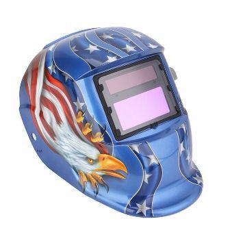 Máscara De Solda Escurecimento Automático Aguia Azul - Apollo