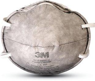 Máscara Descartável Sem Válvula C/Carvão Ativado 8713 - 3M