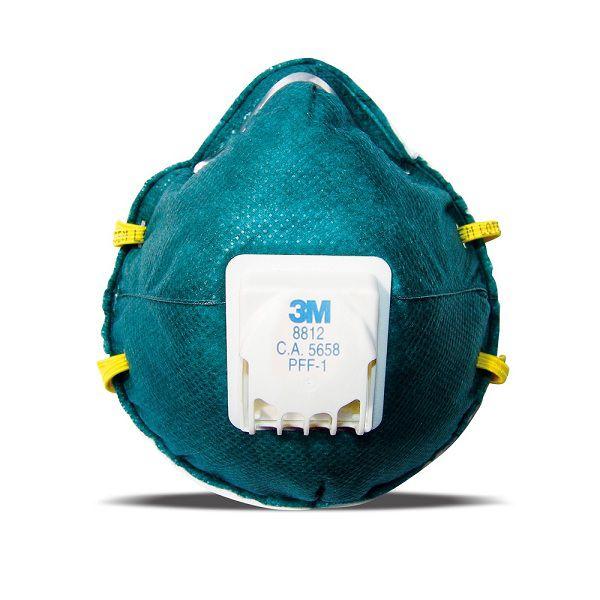 Máscara Respiradora Com Válvula PFF-1 8812/60 - 3M