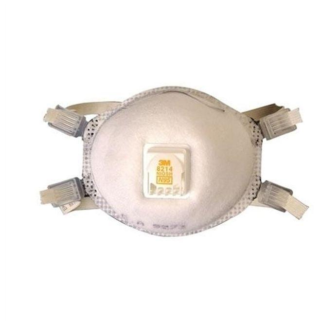 Máscara Respiradora PFF2 Branca 8214 - 3M