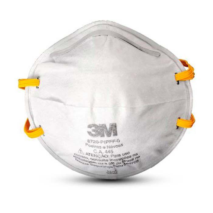 Máscara Respiradora PFF-1 Tipo Concha 8720 - 3M