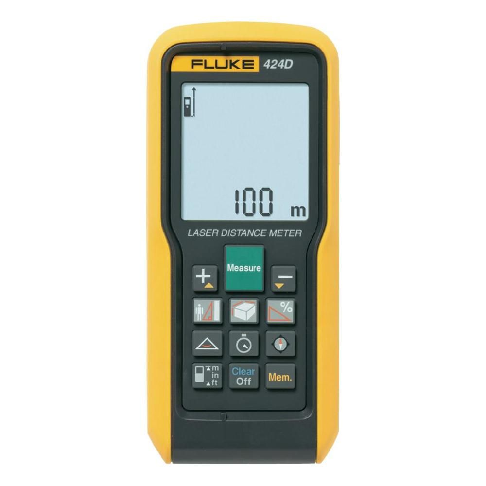 Medidor de Distância a Laser 100m 424 D - FLUKE