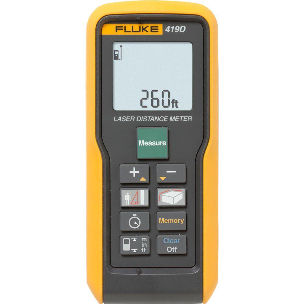 Medidor de Distância a Laser 80m 419 D - FLUKE