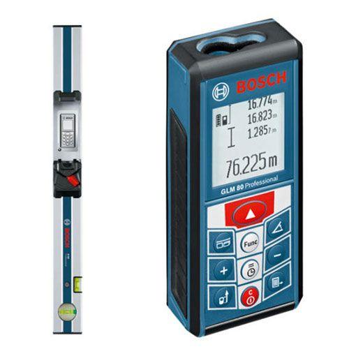 Medidor de Distância á Laser GLM 80 C/ Regua R60 - BOSCH