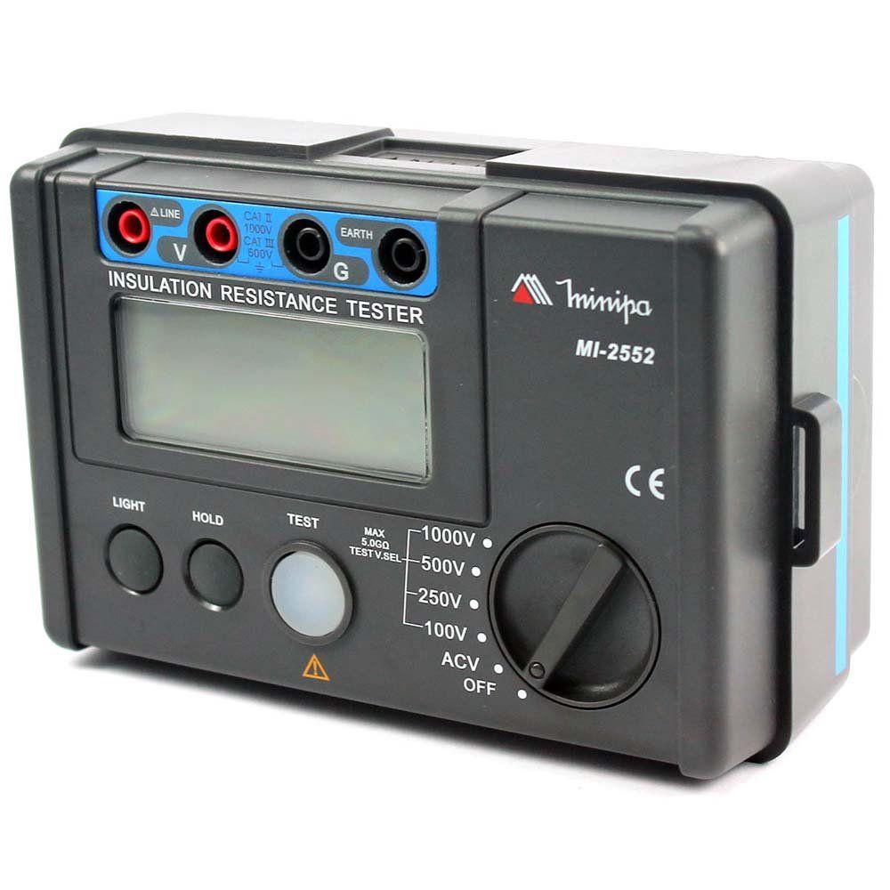Megômetro Digital 600V MI-2552 - MINIPA