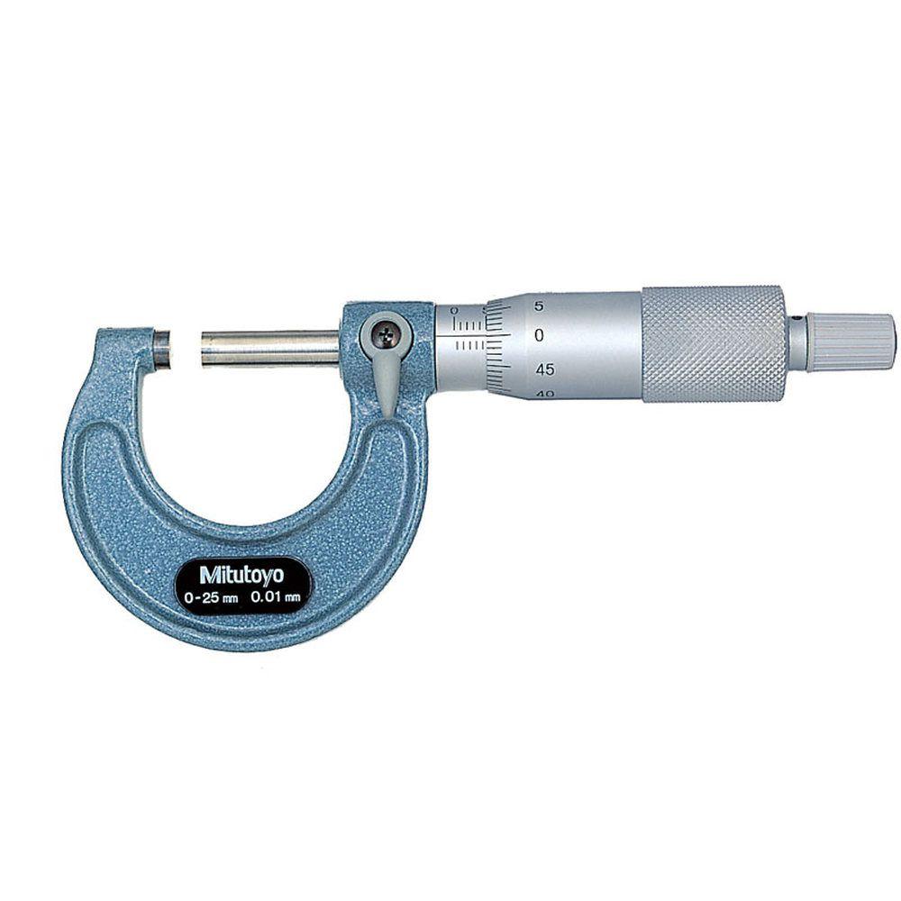 Micrômetro Externo Mecânico 0 - 25 mm 103-137 - MITUTOYO