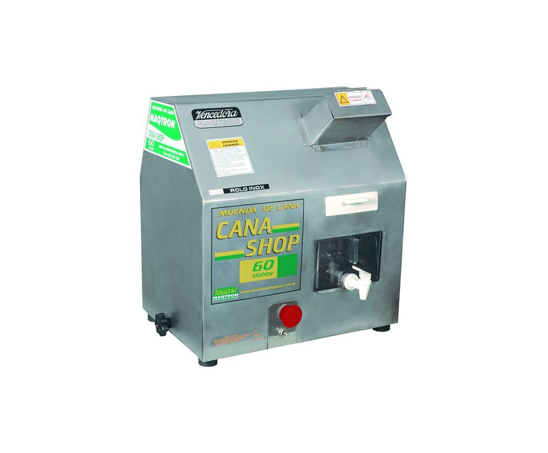 Moenda Cana Shop 60 c/ Motor 220V - MAQTRON