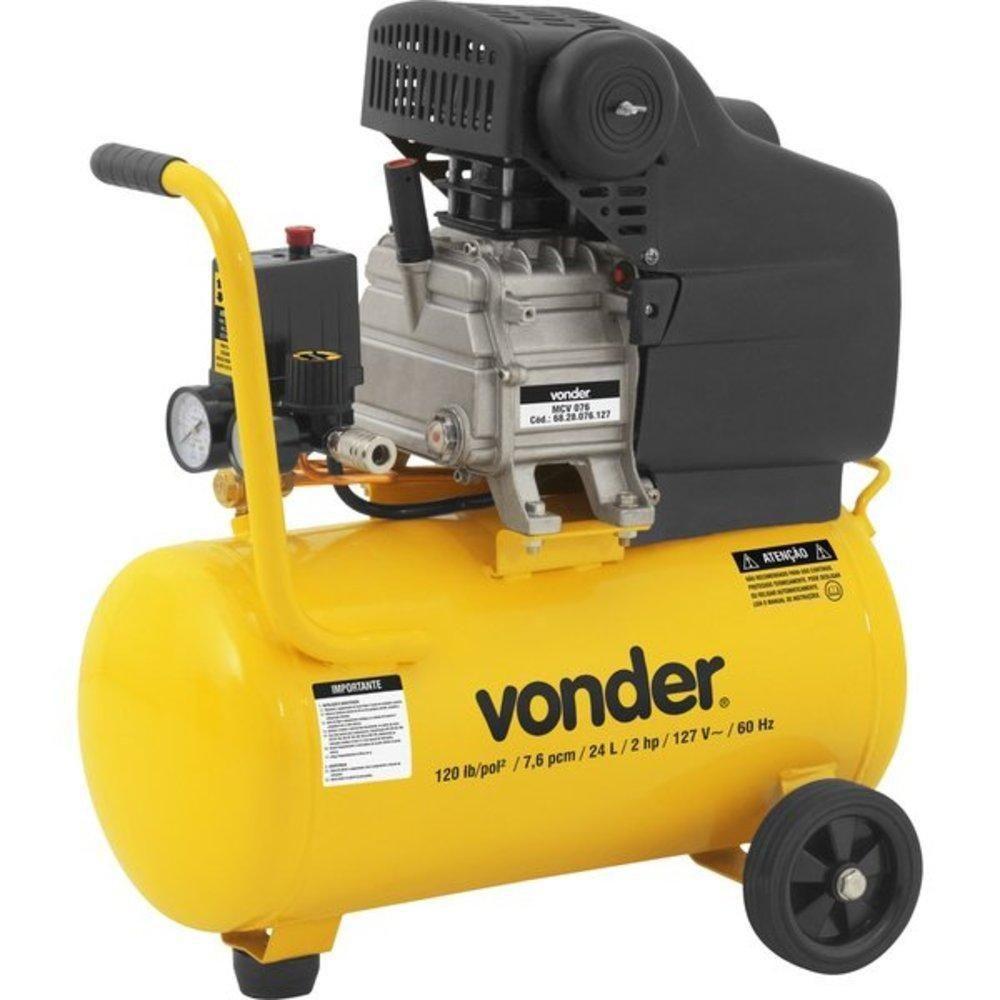 Motocompressor 7,6/24L 2HP MCV076 220V - VONDER