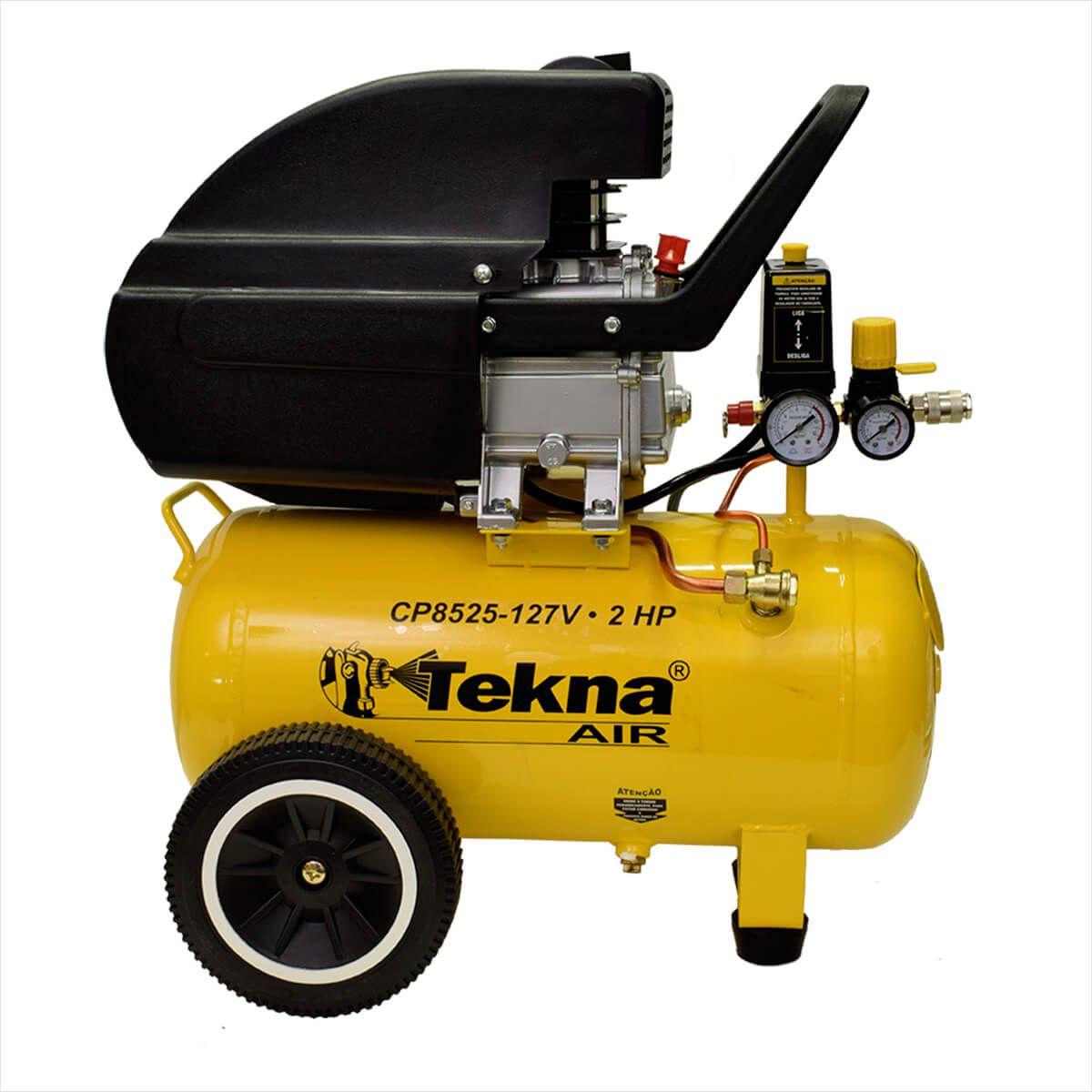 Motocompressor 8,5pcm /25L 110v CP8525 - Tekna