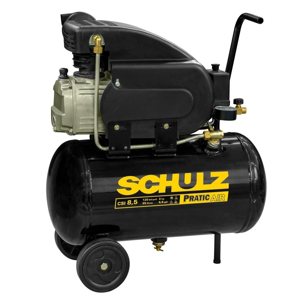 Motocompressor Csi 8,5/25Lts Pratic Air 127V (Mono 2-II) Schulz
