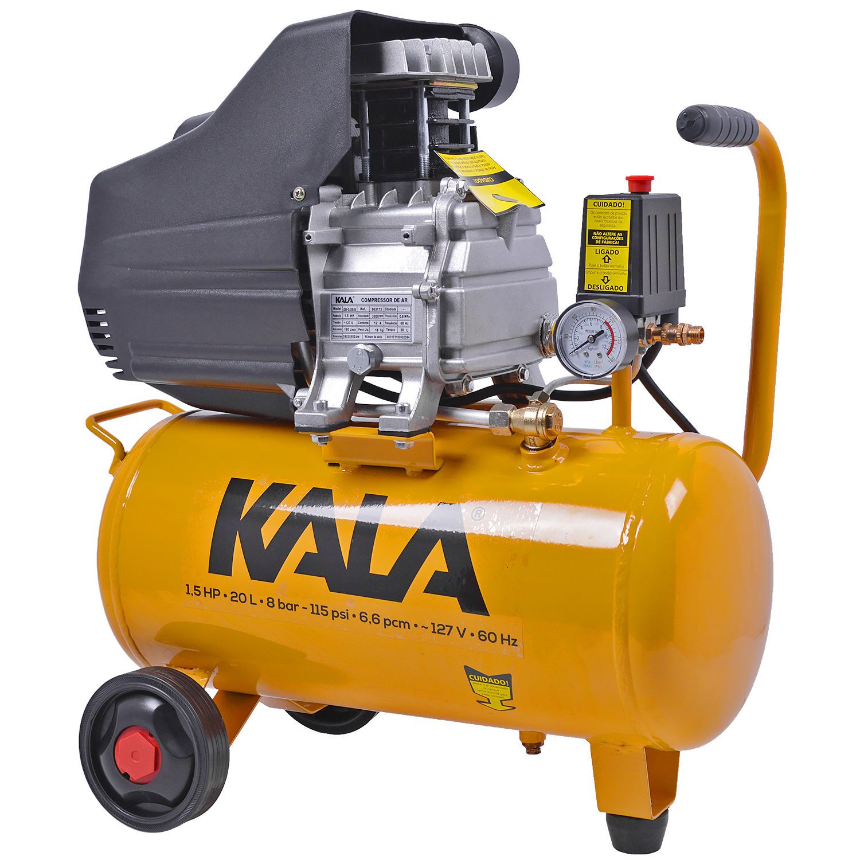 Motocompressor de Ar 20L 1,5CV 127V - KALA