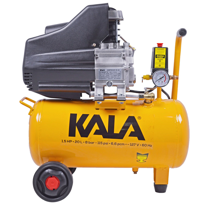 Motocompressor de Ar 20L 1,5CV 220V - KALA
