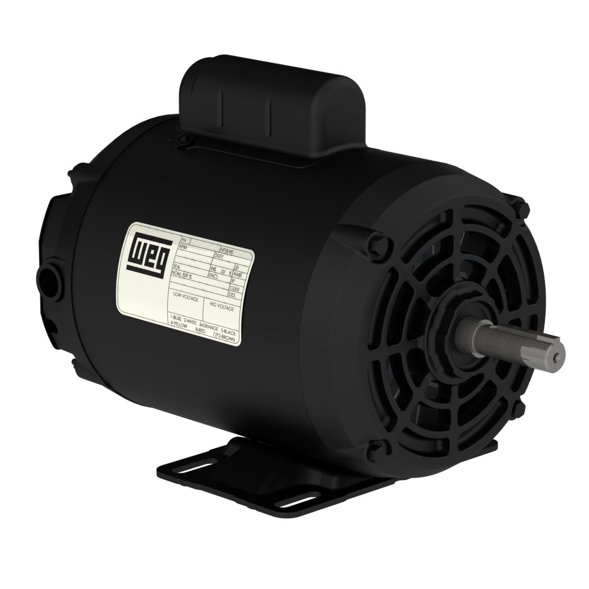 Motor Trifásico 1/2 HP 220/380V Aberto IP21 - Weg