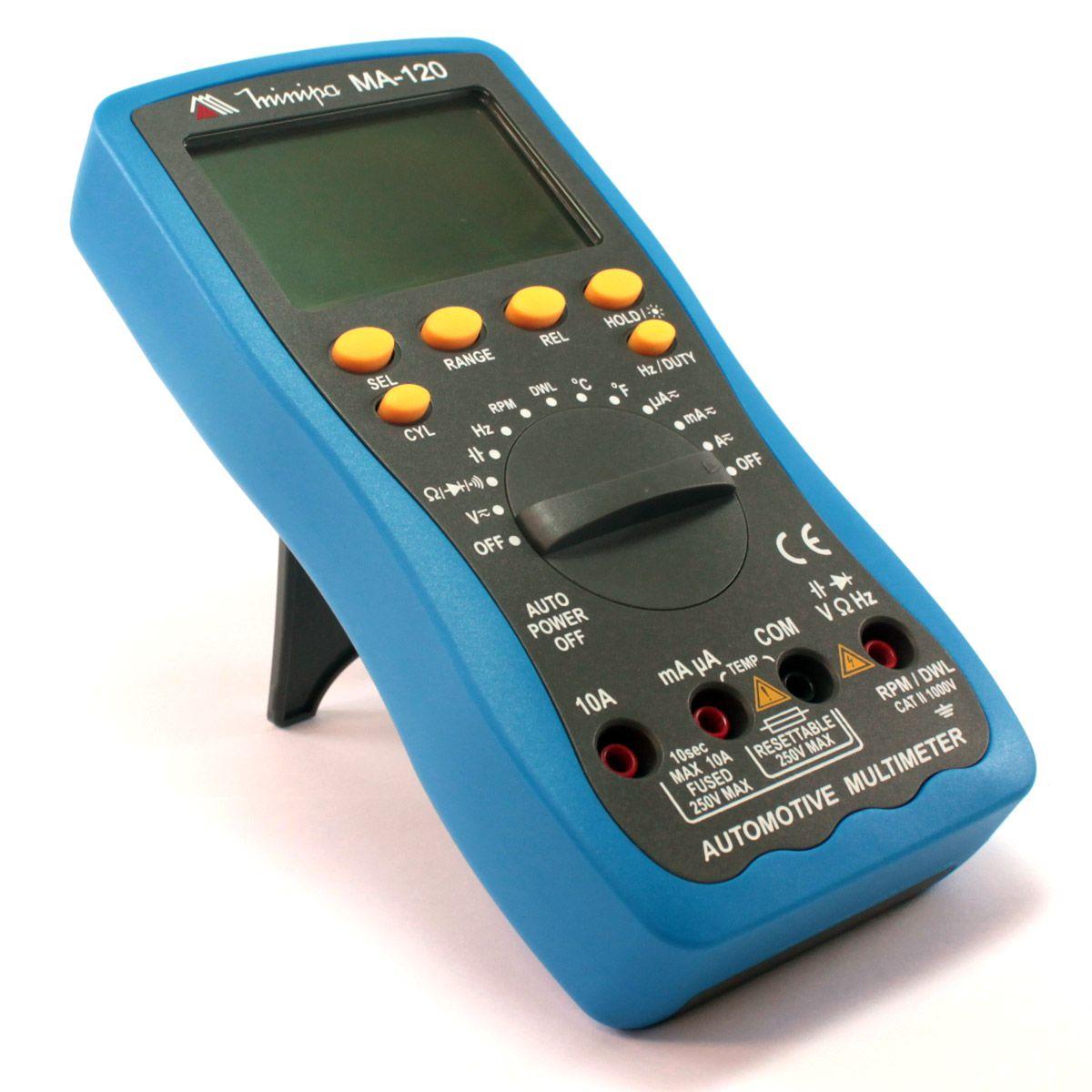 Multímetro Automotivo MA 120 - MINIPA