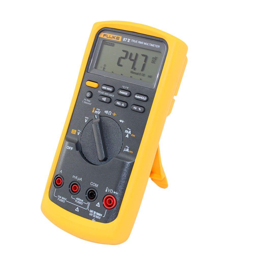 Multímetro Digital Profissional 1000V True-RMS 87-5 - FLUKE