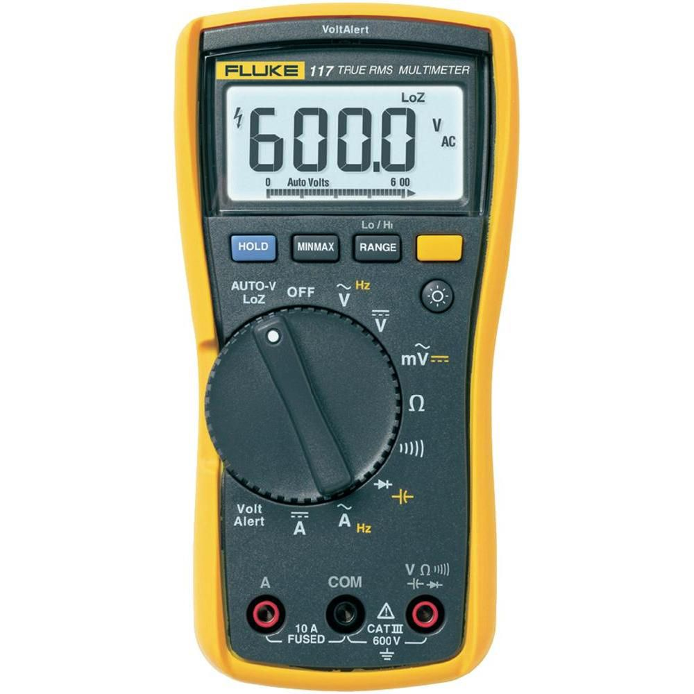 Multimetro Digital True-RMS 117 - FLUKE