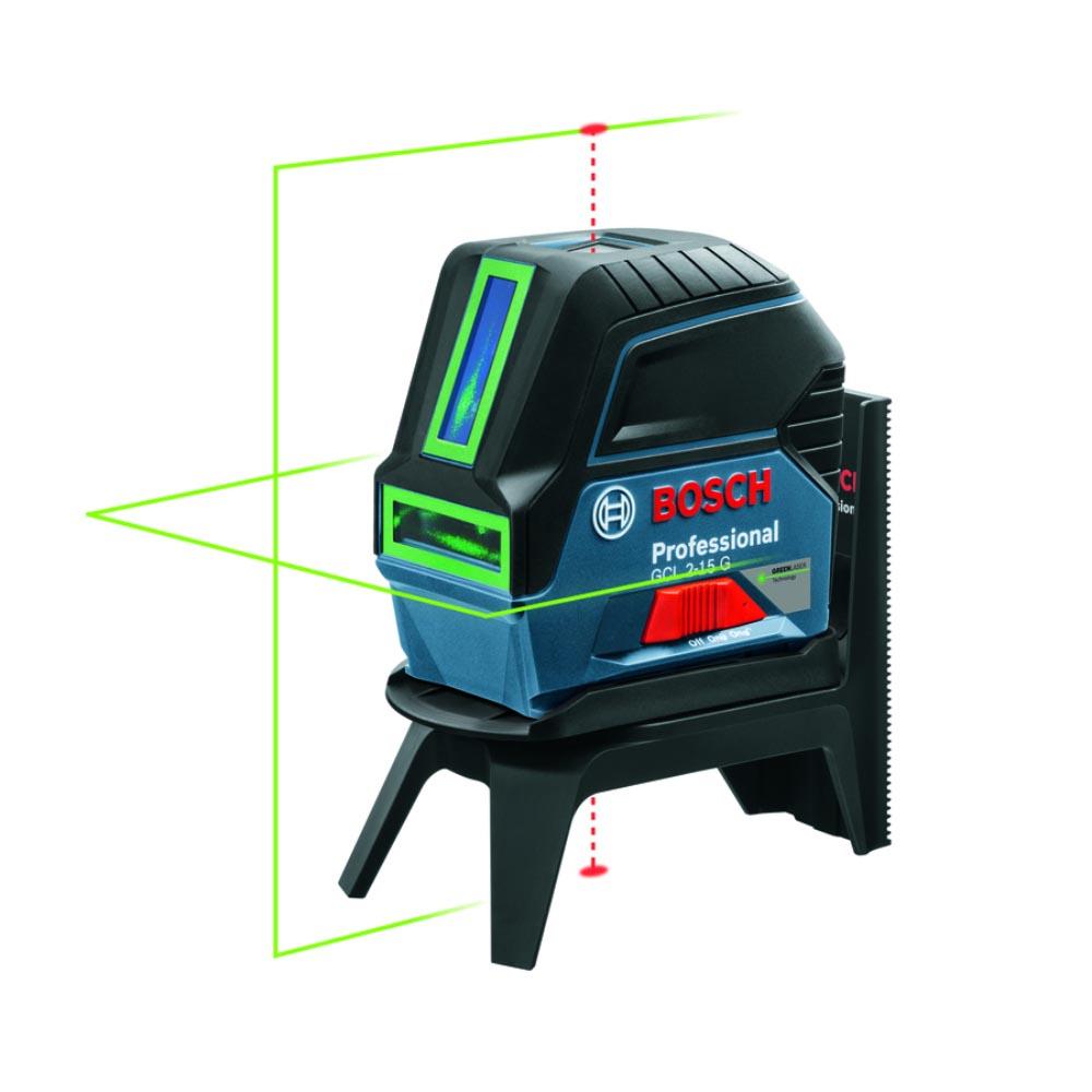 Nível à Laser de Linha GCL2-15G Laser verde 1066 - Bosch