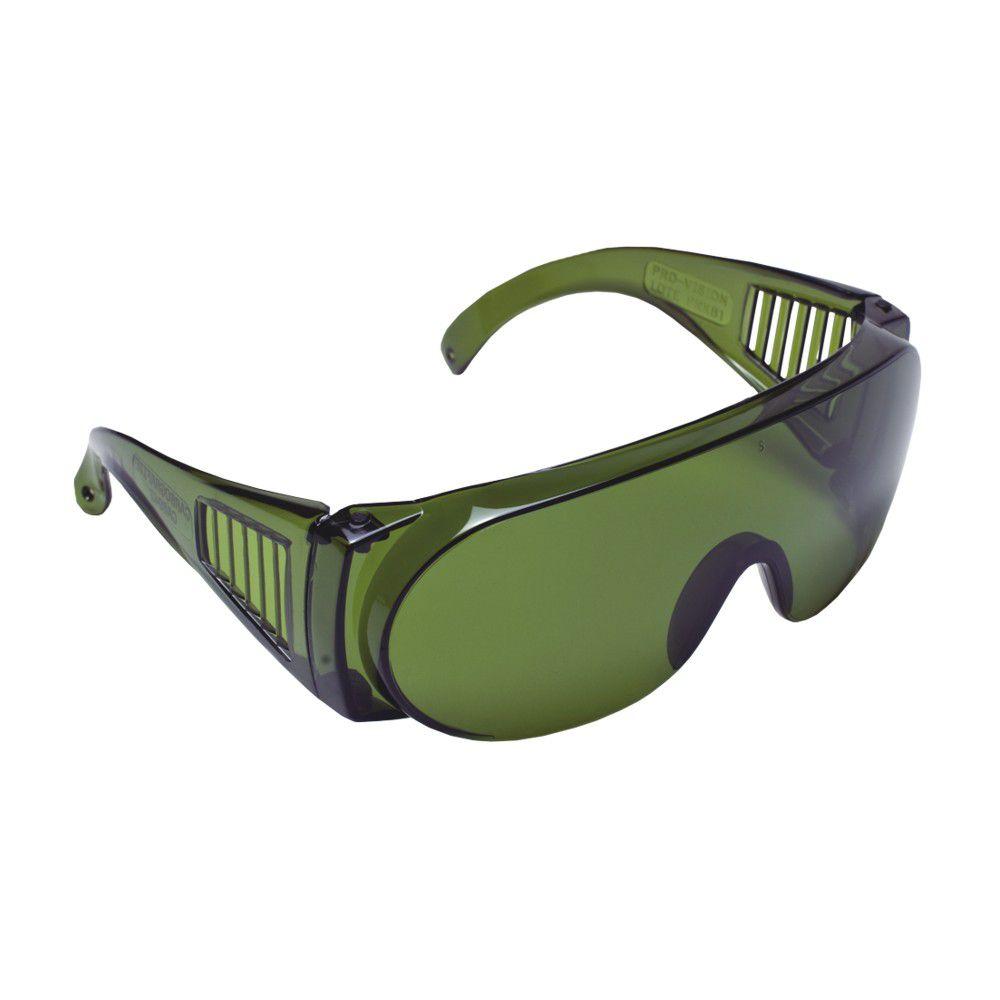 Óculos De Segurança Pro Vision Verde - CARBOGRAFITE