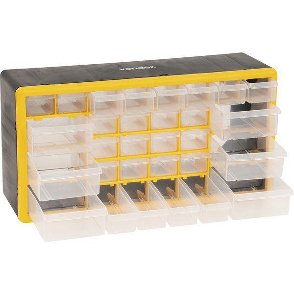 Organizador Plástico (30 DIVISOES MÓVEIS ) OPV 0300 - VONDER
