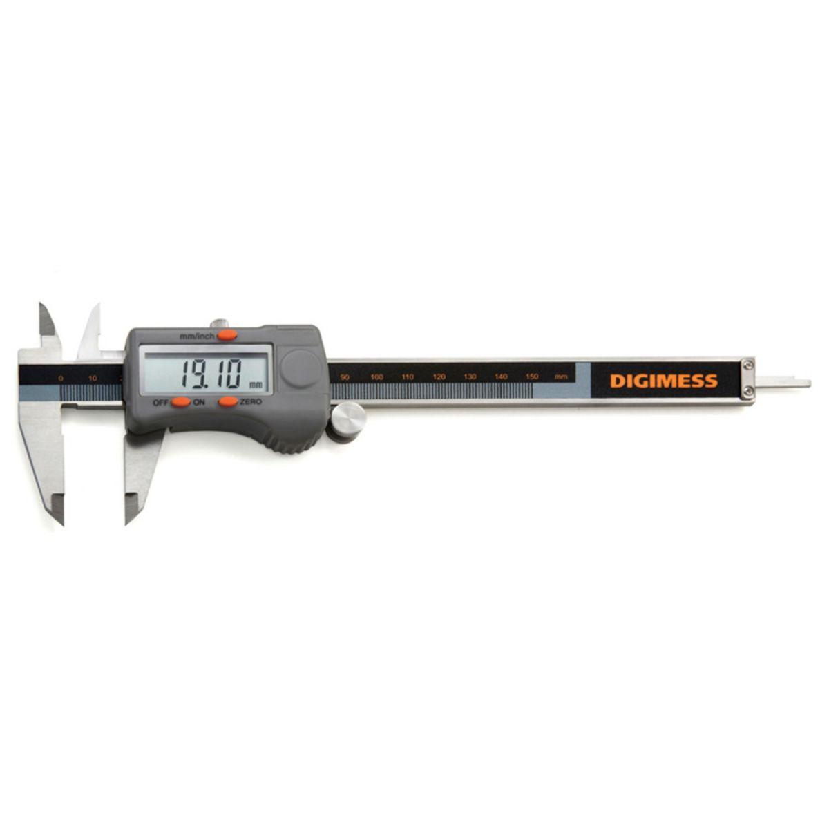 Paquímetro 200mm 8