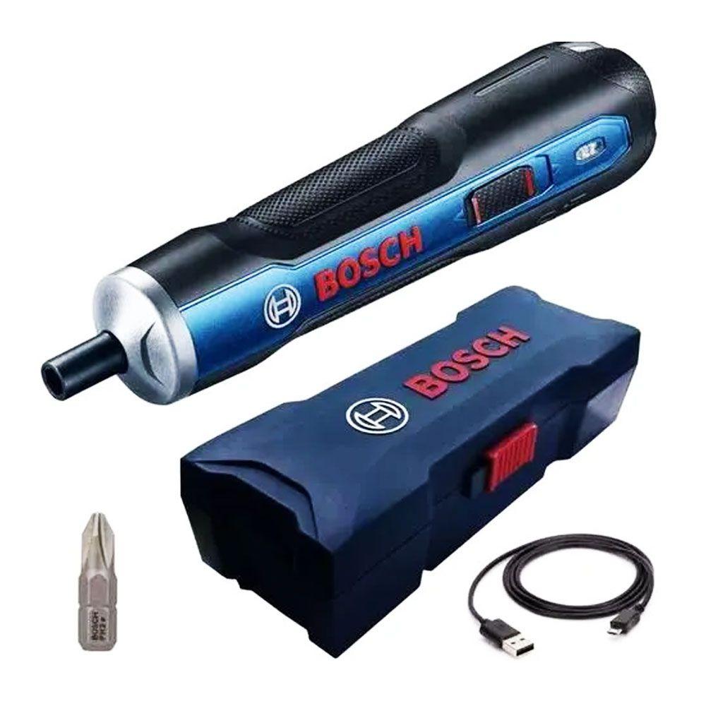 Parafusadeira à Bateria 3,6V Bivolt BOSCH GO - BOSCH