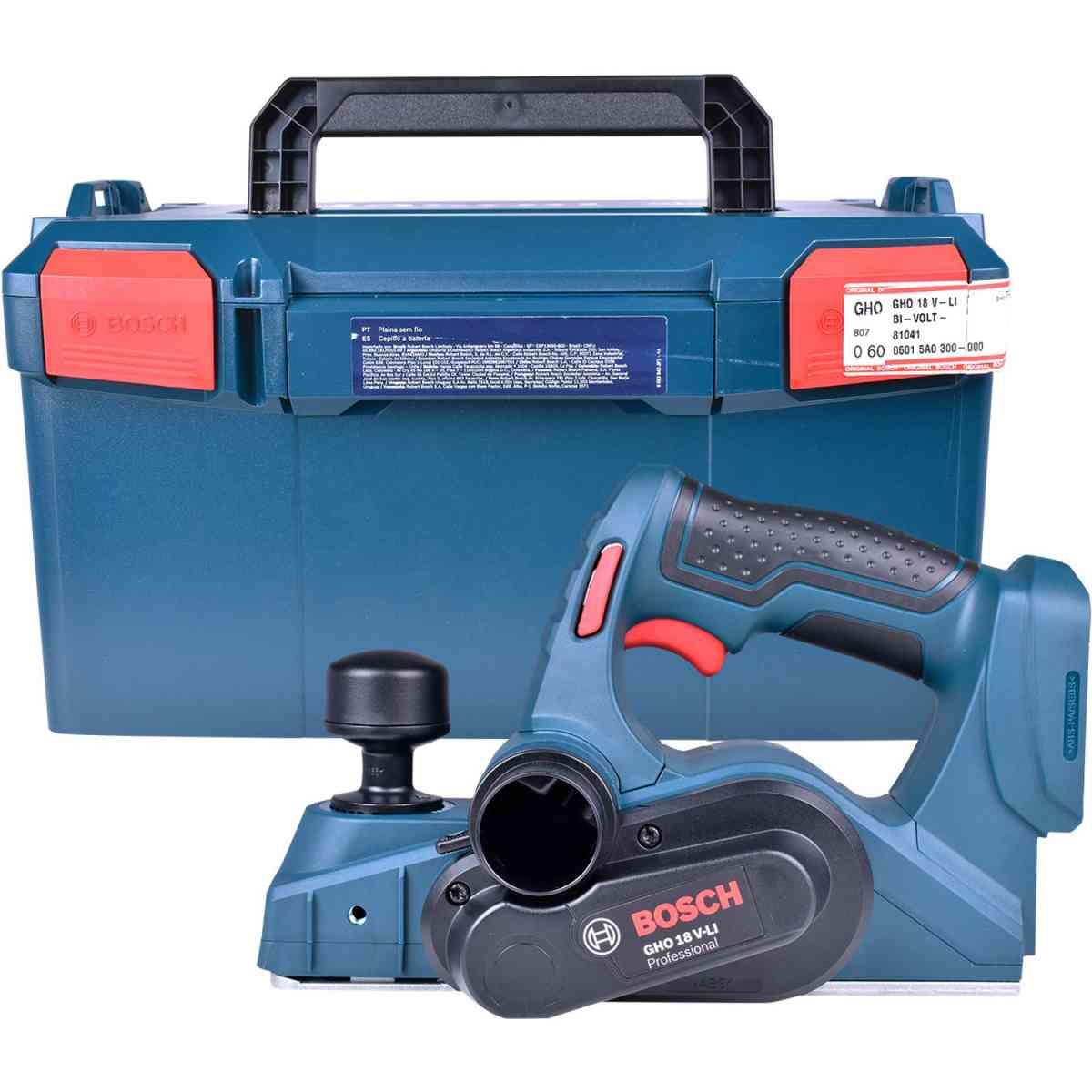 Plaina 82mm a Bateria GHO18V-LI S/Bataria – Bosch