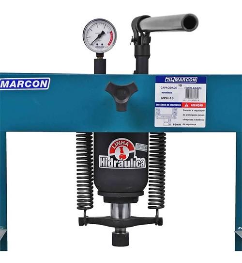 Prensa Hidráulica 10 Toneladas MPH 10 - MARCON