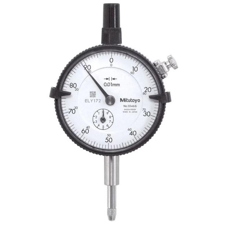 Relógio Comparador 0,01/10 MM 2046S Mitutoyo