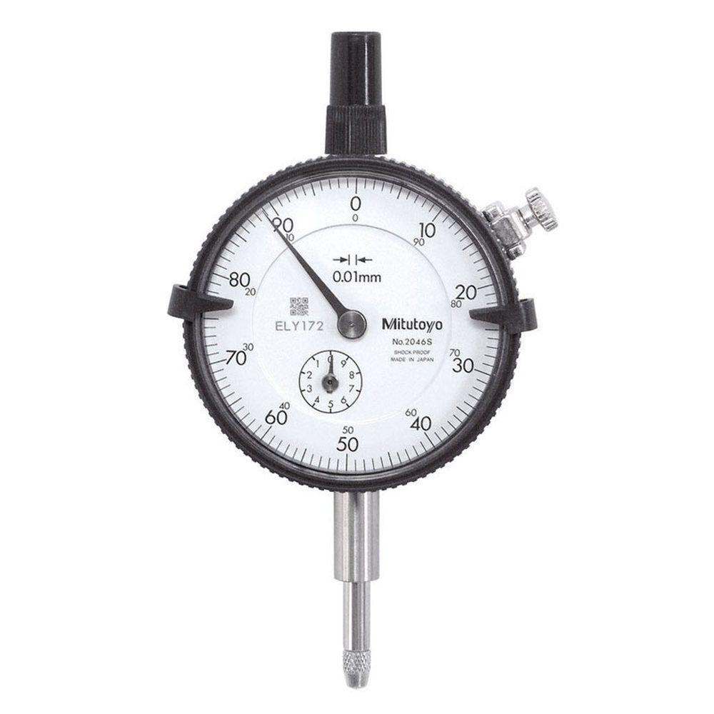 Relógio Comparador de 0-100 2046S - MITUTOYO
