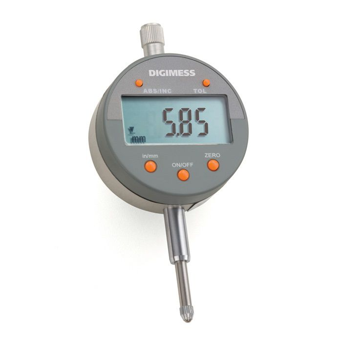 Relógio comparador digital 0-12,5mm (0,01mm) 121.335 DIGIMES
