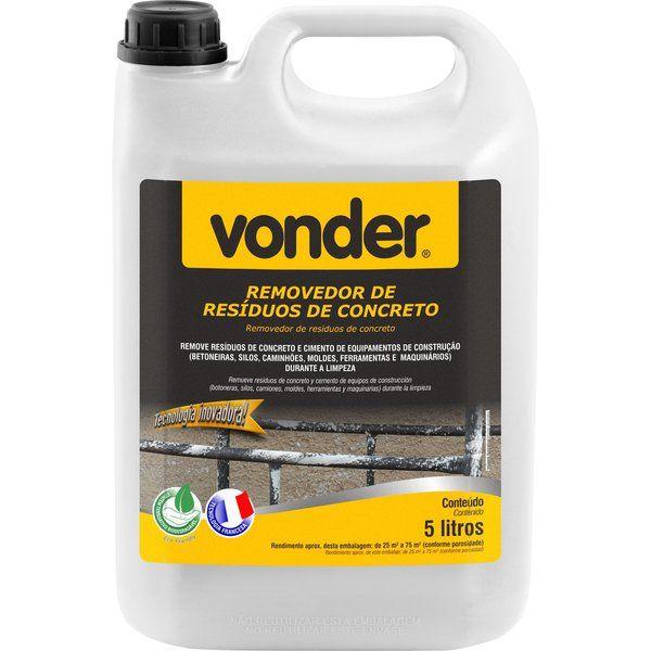 Removedor De Residuos De Cimento 5LTS - VONDER