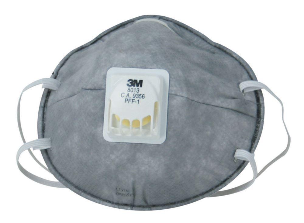 Respirador Descartável C/Válvula PFF1 8013 - 3M