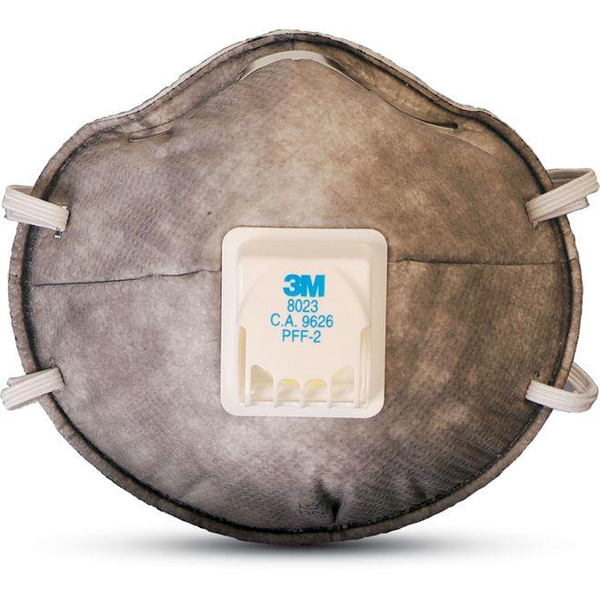 Respirador Descartável Com Válvula PFF2 8023 - 3M